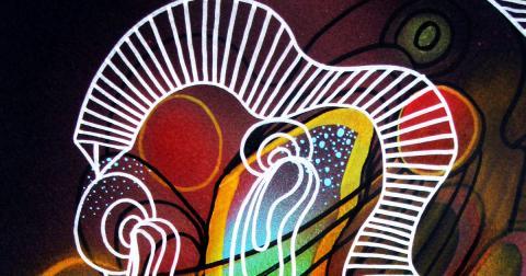 Filigree Cosmic I, 2016 by Mauricio Paz Viola meta image