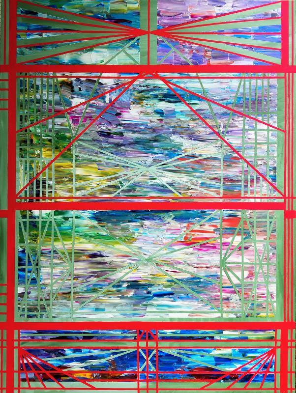 Building Bridges oil painting