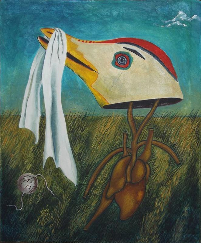 Totem II by Linda Laino