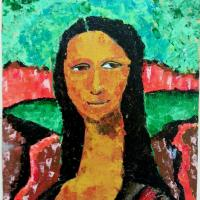 The Renewed Mona Lisa by Malak Mattar