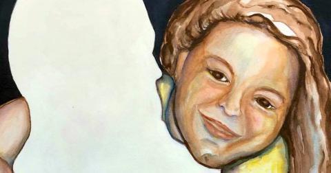 Motherless Fatherless #2, painting
