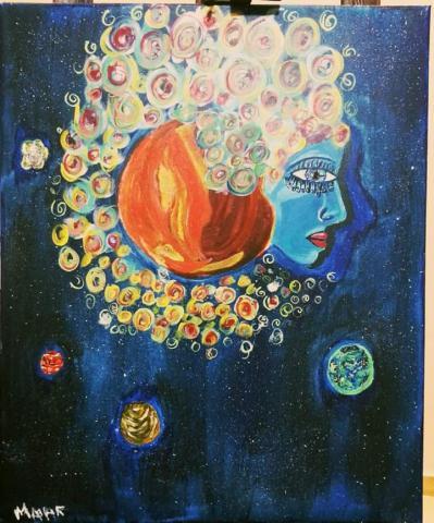 Starry Sighs by Malak Mattar