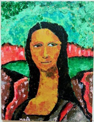 The Renewed Mona Lisa by Malak Mattar