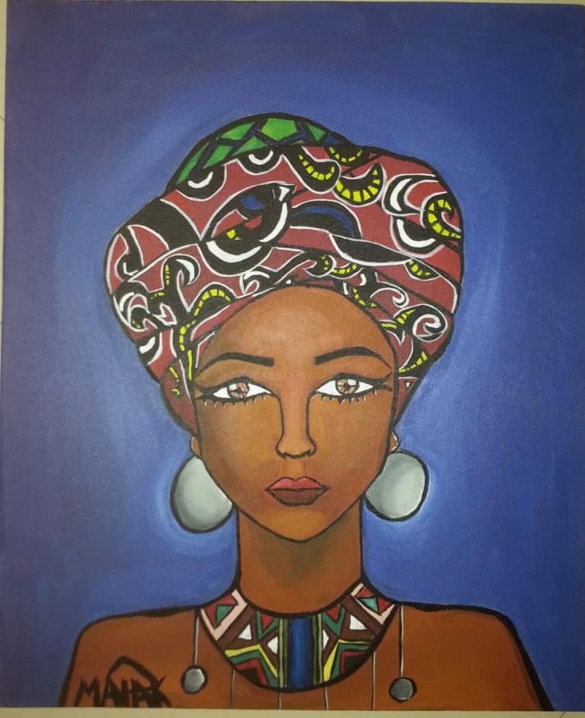 A Queen by Malak Mattar