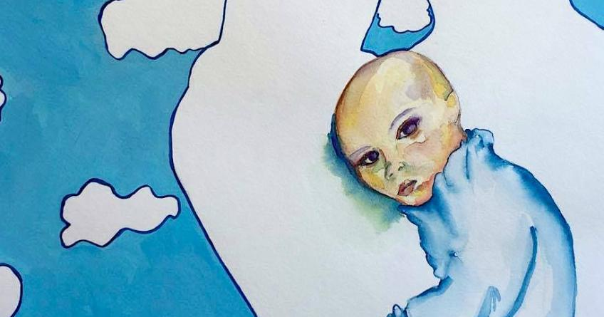 Motherless Fatherless #5, painting